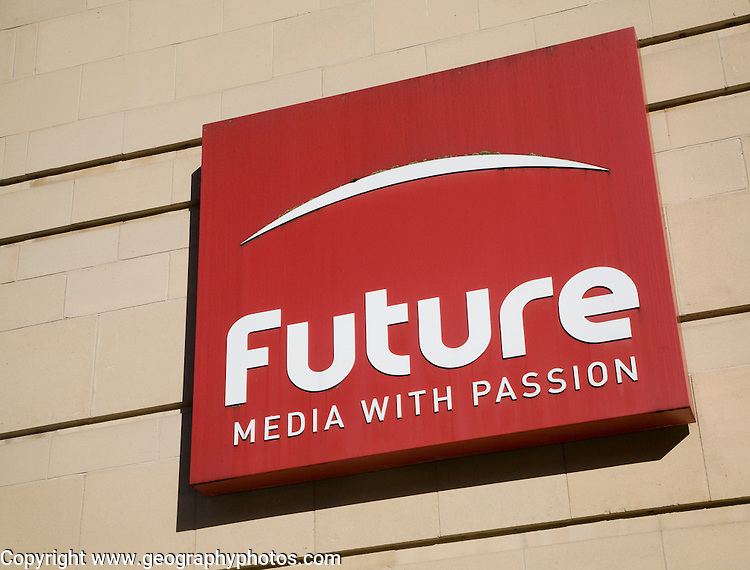 Sign for Future media company a major UK magazine and digital content publisher  specialising in Technology, Entertainment and Video Games, Sport & Auto, Music and Creative. Bath, Somerset, England