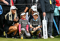 Lydia Ko fans. McKayson NZ Women's Golf Open, Round Two, Windross Farm Golf Course, Manukau, Auckland, New Zealand, Friday 29 September 2017.  Photo: Simon Watts/www.bwmedia.co.nz