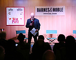 "Host Steven Sorrentino introduces ""War Paint"" On Broadway with Composer Scott Frankel at Barnes & Noble 86th Street on July 14, 2017 New York City."