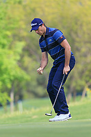 Julien Guerrier (FRA) in action during the third round of the Volvo China Open played at Topwin Golf and Country Club, Huairou, Beijing, China 26-29 April 2018.<br /> 28/04/2018.<br /> Picture: Golffile | Phil Inglis<br /> <br /> <br /> All photo usage must carry mandatory copyright credit (&copy; Golffile | Phil Inglis)