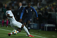 Aaron Wan-Bissaka of England and Fode Ballo-Toure of France compete for the ball<br /> Cesena 18-06-2019 Stadio Dino Manuzzi <br /> Football UEFA Under 21 Championship Italy 2019<br /> Group Stage - Final Tournament Group C<br /> England - France<br /> Photo Cesare Purini / Insidefoto