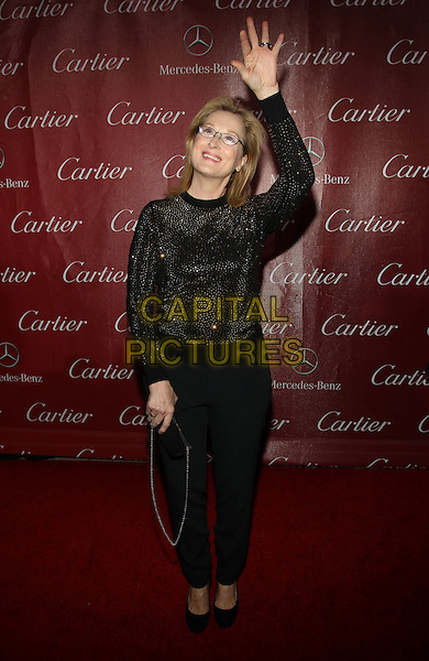 4 Januray 2014 - Palm Springs, California - Meryl Streep. 25th Annual Palm Springs International Film Festival held at the Palm Springs Convention Ceter.<br /> CAP/ADM/KB<br /> &copy;Kevan Brooks/AdMedia/Capital Pictures