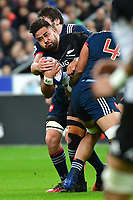 Nepo Laulala of New Zealand during the test match between France and New Zealand at Stade de France on November 11, 2017 in Paris, France. (Photo by Dave Winter/Icon Sport)