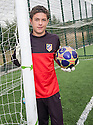 "Josuha Rae, who is 6' 1"" despite only being  12 years old, and has been offered a deal with Atletico de Madrid after being invited for a trial after impressing one of their scouts while playing football on the beach on holiday in Benidorm."