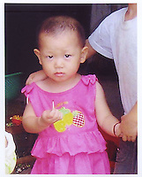 Chen Yuling (2) , born in Dec 2005. Missing in Heng Mei Xing Ye Residential Quarter at Nan Cun County in Pan Yu District in Guangzhou on 03 May 2008.  Girls in China are increasingly targeted as there is a shortage of wives as the gender imbalance widens with 120 boys for every 100 girls...PHOTO BY SINOPIX.