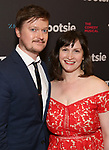 "Steven Boyer and Emily Boyer attends the Broadway Opening Night of ""Tootsie"" at The Marquis Theatre on April 22, 2019  in New York City."