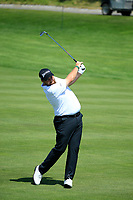 Shane Lowry (IRL) in action during the final round of the Northern Trust played at Liberty National Golf Club, Jersey City, USA. 11/08/2019<br /> Picture: Golffile | Michael Cohen<br /> <br /> All photo usage must carry mandatory copyright credit (© Golffile | Michael Cohen)