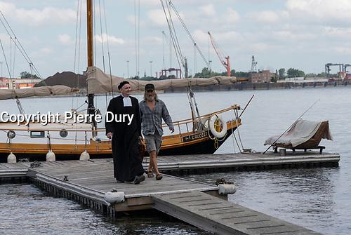 Photo officielle du film Beaute du Monde de Andre Forcier, avec Roy Dupuis, Yves Jacques, 2019