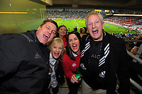 Fans prepare for the 2017 DHL Lions Series rugby union 3rd test match between the NZ All Blacks and British & Irish Lions at Eden Park in Auckland, New Zealand on Saturday, 8 July 2017. Photo: Dave Lintott / lintottphoto.co.nz