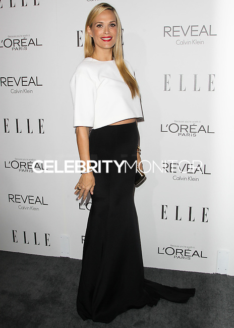 BEVERLY HILLS, CA, USA - OCTOBER 20: Molly Sims arrives at ELLE's 21st Annual Women In Hollywood held at the Four Seasons Hotel on October 20, 2014 in Beverly Hills, California, United States. (Photo by Celebrity Monitor)