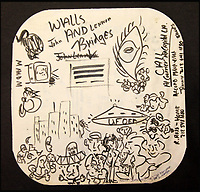 Lennon's Wall & Bridges album doodles.