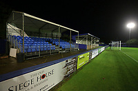 General view of the ground during Romford vs Brentwood Town, Velocity Trophy Football at the Brentwood Centre on 8th October 2019