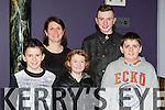 Mark Casey, Mary Anne Casey, Clodagh, Daniel and Jake Casey Kilgarvan enjoying the Gathering festival in the Gleneagle Hotel on Sunday