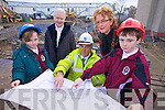 EXTENSION: Moyderwell Mercy Primary School announced the commencement of the long-awaited extension of 8 classrooms to their school on Tuesday l-r: Eimear Nolan, Sr Goretti, Jack O'Leary (Malachy Walsh Consulting Engineers), Moira Quinlan, Principal and Evan Doody.