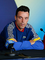 2nd January 2020; RAC Arena , Perth, Western Australia, Australia; ATP Cup Team Press conferences, Spain; Roberto Bautista Agut of Spain at the team press conferences - Editorial Use
