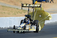 Jul. 18, 2010; Sonoma, CA, USA; NHRA top fuel dragster driver Tony Schumacher during the Fram Autolite Nationals at Infineon Raceway. Mandatory Credit: Mark J. Rebilas-