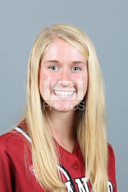 STANFORD, CA-October 9, 2014 - of the Stanford Women's Softball Team, 2014-2015.