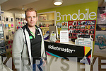 John McCarthy owner of  B-mobile Ticketmaster outlet in Tralee.