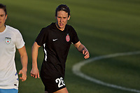 Portland, OR - Sunday March 11, 2018: Mallory Weber during a National Women's Soccer League (NWSL) pre season match between the Portland Thorns FC and the Chicago Red Stars at Merlo Field.
