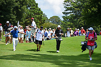 Abraham Ancer (MEX) and Tommy Fleetwood (ENG) make their eay to the tee on 4 during round 2 of the 2019 Tour Championship, East Lake Golf Course, Atlanta, Georgia, USA. 8/23/2019.<br /> Picture Ken Murray / Golffile.ie<br /> <br /> All photo usage must carry mandatory copyright credit (© Golffile | Ken Murray)