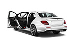Car images close up view of 2017 Mercedes Benz E Class AMG 43 4 Door Sedan doors
