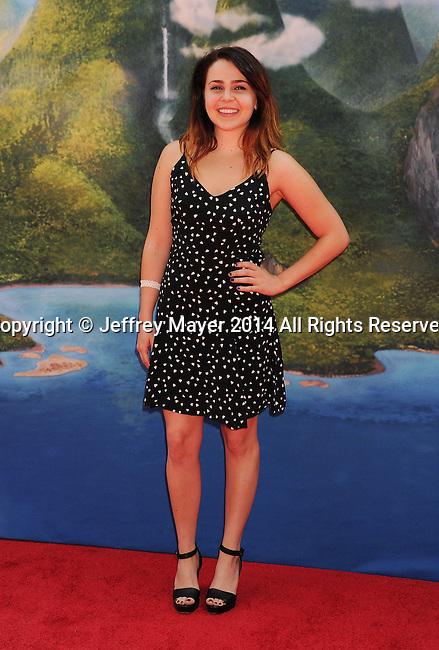 BURBANK, CA- MARCH 22: Actress Mae Whitman attends the premiere of DisneyToon Studios' 'The Pirate Fairy' at Walt Disney Studios on March 22, 2014 in Burbank, California.