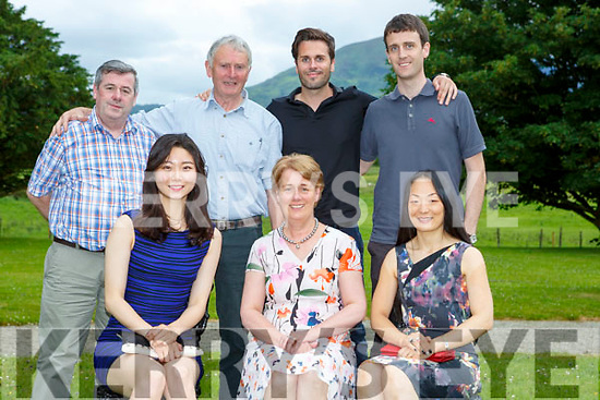 Olive Mulvihill celebrated her birthday with her family in the Cahernane House Hotel Killarney on Monday evenig front row l-r: Brenda Ki, Olive and Chris Mulvihill Back row: Mossie Pierce, John, Jerry and Tim Mulvihill