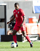 CLEVELAND, OH - JUNE 22: Armando Cooper #11 during a game between Panama and Guyana at FirstEnergy Stadium on June 22, 2019 in Cleveland, Ohio.