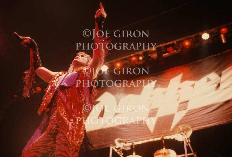 Various live photographs of the rock band, Dokken