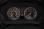 Instrument panel close up detail view of a 2009 BMW 5 Series 528