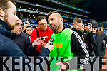 Pat O'Driscoll Ardfert Manager after winning the Intermediate All Ireland Club Final in Croke Park on Saturday.