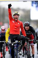 AMILLY, FRANCE - 6-03-2017 : Sonny COLBRELLI vince la seconda tappa della Parigi Nizza.   <br /> Foto Nico Vereecken/Photo News / Panoramic/Insidefoto <br /> ITALY ONLY