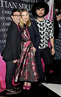 NEW YORK, NY - NOVEMBER 08: Christian Siriano , Drew Barrymore and Brad Walsh attend the release of Christian Siriano's  book 'Dresses To Dream About' at the Rizzoli Flagship Store on November 8, 2017 in New York City.  <br /> CAP/MPI/JP<br /> &copy;JP/MPI/Capital Pictures