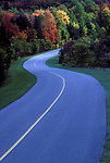 Winding road, Gatineau Park, Quebec