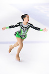 Shih Ching Chen of Taiwan competes in Basic Novice Subgroup A Girls group during the Asian Open Figure Skating Trophy 2017 on August 02, 2017 in Hong Kong, China. Photo by Marcio Rodrigo Machado / Power Sport Images