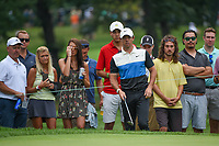 Rory McIlroy (NIR) looks over his chip on 3 during Rd3 of the 2019 BMW Championship, Medinah Golf Club, Chicago, Illinois, USA. 8/17/2019.<br /> Picture Ken Murray / Golffile.ie<br /> <br /> All photo usage must carry mandatory copyright credit (© Golffile   Ken Murray)