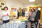 A TASTY SUCCESS: Staff from the Bon Secours Hospital were overwhelmed with the success of their cake sale for Recovery Haven on Friday morning. Pictured from l-r were: Breda Nugent, Margaret Sheehy, Gerry Redican, Sr Anselm, Sr Cathriona, Sr Anita, Siobhan Dowling, Catherine Foley, Ann Marie Phillips, George Phillips and Mary Murphy.