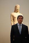 Nov 25, 2009 - Athens, Greece -Bulgarian President Georgi Parvanov visit the Archaeological museum. Credit Aristidis Vafeiadakis/ZUMA Press.