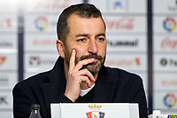 Diego Martínez (coach; Granada CF) after the Spanish football of La Liga 123, match between CA Osasuna and  Granada CF at the Sadar stadium, in Pamplona (Navarra), Spain, on Sunday, February 3, 2019.