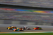 2017 NASCAR Cup - Daytona 500<br /> Daytona International Speedway, Daytona Beach, FL USA<br /> Friday 16 February 2018<br /> Erik Jones, Joe Gibbs Racing, DEWALT Toyota Camry and Kyle Busch, Joe Gibbs Racing, M&amp;M's Toyota Camry<br /> World Copyright: {Nigel Kinrade}/LAT Images