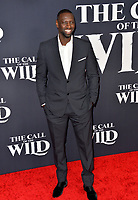 "LOS ANGELES, CA: 13, 2020: Omar Sy at the world premiere of ""The Call of the Wild"" at the El Capitan Theatre.<br /> Picture: Paul Smith/Featureflash"