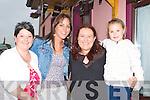 Mary Mulcahy, Maria Flynn Abbeyfeale, Katy and Erika Cronin enjoying the music at the Con Curtin festival, Brosna on Sunday