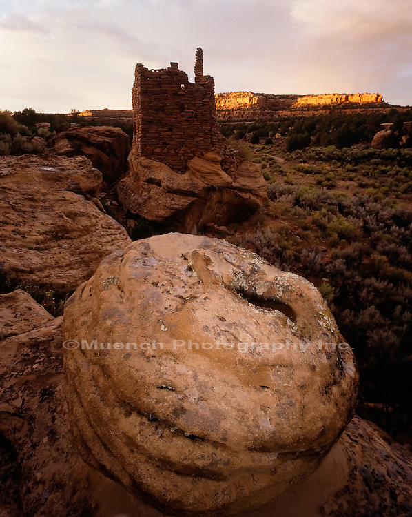 """Citadel ruin, Largo Canyon   NEW MEXICO"""