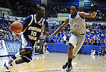 January 13, 2010:  BYU guard, Michael Loyd (10), drives the lane during the Cougars Mountain West Conference game against Air Force at Clune Arena , U.S. Air Force Academy, Colorado Springs, Colorado.  BYU defeats Air Force 67-49.