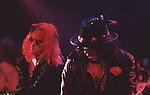 Saigon Saloon - Sept 1989- Hollywood. Scarlet Rowe - lead guitar<br /> Jo Jo Zaouk - bass guitar