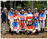 group of riders before the Ladies Fegernti Amateur Riders Race at Delaware Park on 6/10/06