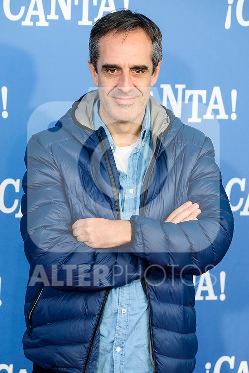 "Juan Pedro Valentin attends to the premiere of the film ""¡Canta!"" at Cines Capitol in Madrid, Spain. December 18, 2016. (ALTERPHOTOS/BorjaB.Hojas)"