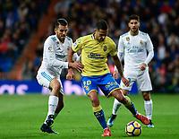 Real Madrid's Dani Ceballos and UD Las Palmas' Vitolo during La Liga match. November 5,2017. (ALTERPHOTOS/Inma Garcia)