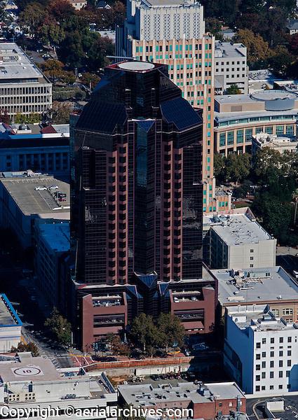aerial photograph Rennaisance Plaza, Sacramento, California