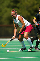 2 September 2005: Julia Drewes during Stanford's 3-1 loss to the University of Iowa at the Varsity Turf Field in Stanford, CA.